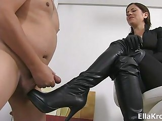 Mistress Ella Kross Present:Your Cock Belongs To My Boots