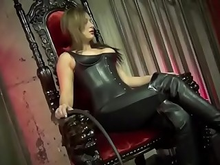 Beaten Into A Boot Slave