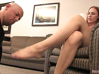 Hard Foot Slapping and Foot Fetish Domination
